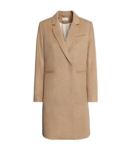 H&M Coat in Camel