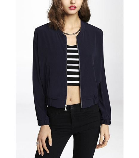 Express Soft Bomber Jacket