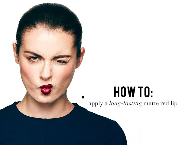 How To Apply a Red Lip Like a Pro