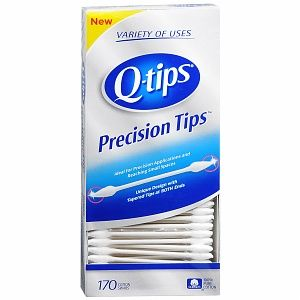 Q-Tip Precision Tip Cotton Swabs