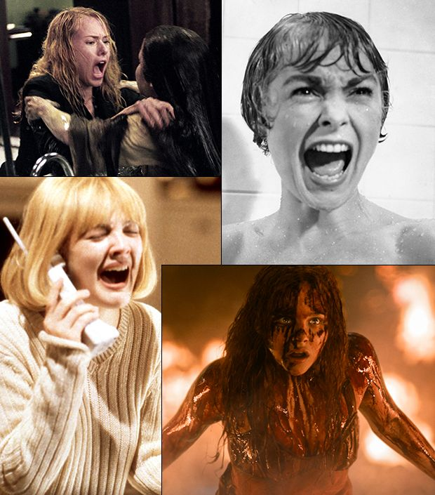 Hollywood's Most Iconic Scream Queens