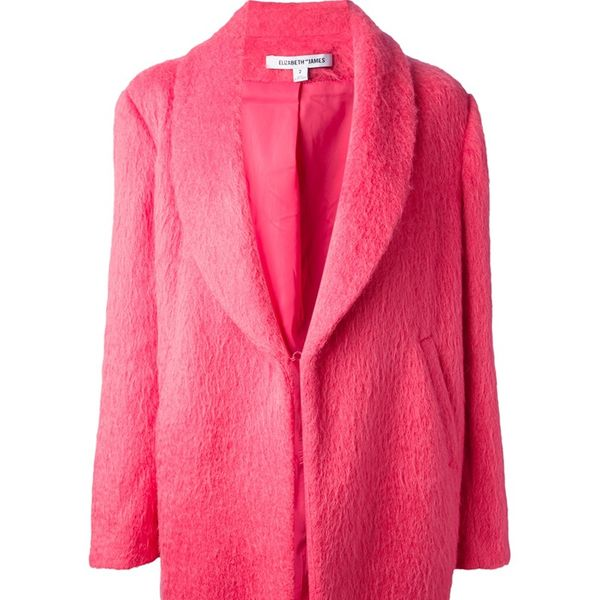 Elizabeth and James  Shawl Collar Coat