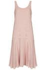 Topshop  Topshop Pleat Bodice Midi Dress