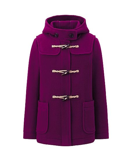 Uniqlo  Women Wool Blended Short Duffel Coat
