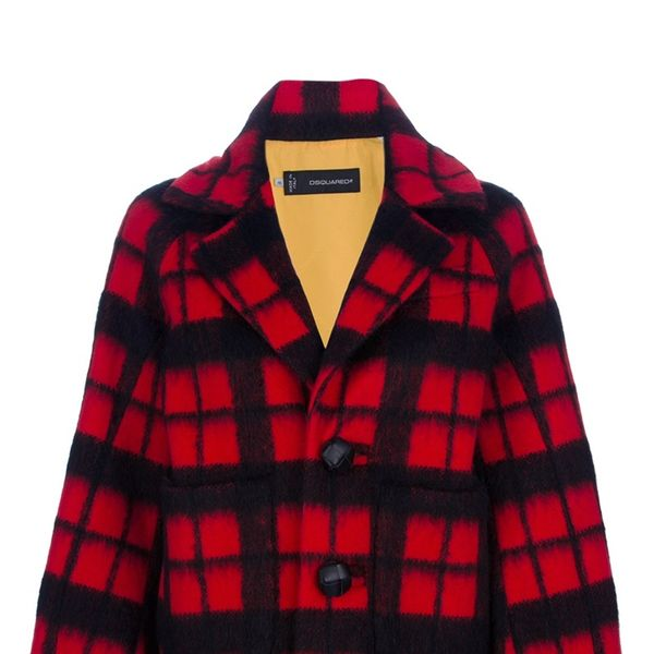 DSquared2   DSquared2 Plaid Checked Jacket