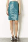 Topshop  Topshop Leather Panel Pencil Skirt