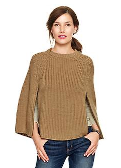 Gap  Sweater Zip Cape