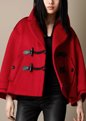 Burberry Brit  Swing Duffle Coat