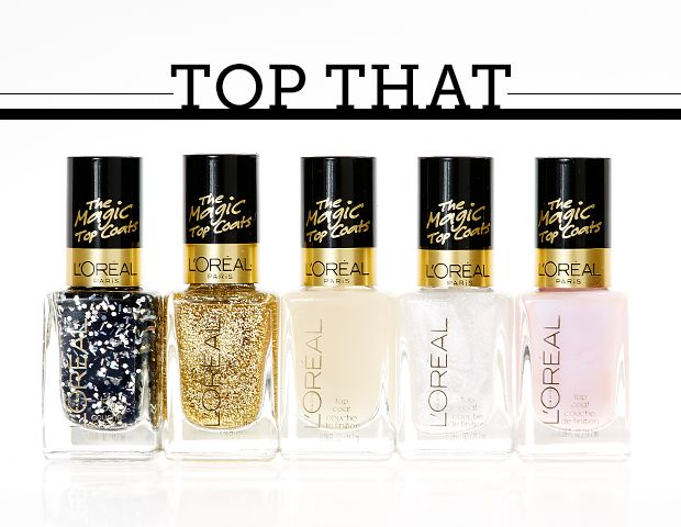 5 New Topcoats from L'Oreal