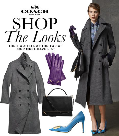 Shop the Look: Coach's Sophisticated Fall Style