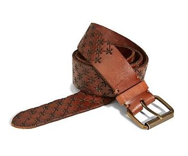 Lucky Brand  Elizabeth Laser Embossed Belt