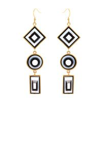 Kelly Wearstler  Vaso Earrings