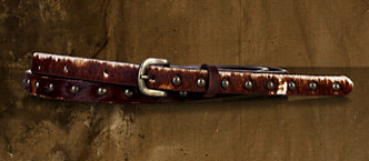 Denim & Supply  Skinny Haircalf Belt