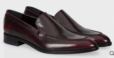 Paul Smith  Leather Waters Loafers