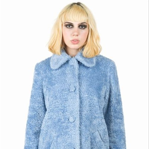 Chloe Sevigny for Opening Ceremony  Faux Fur Cocoon Coat