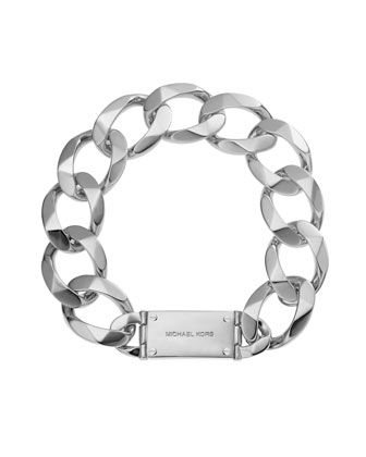 Michael Kors  Oversize Curb-Chain Collar Necklace