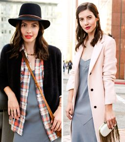 2 Easy Tricks For Pulling Off A Slip Dress