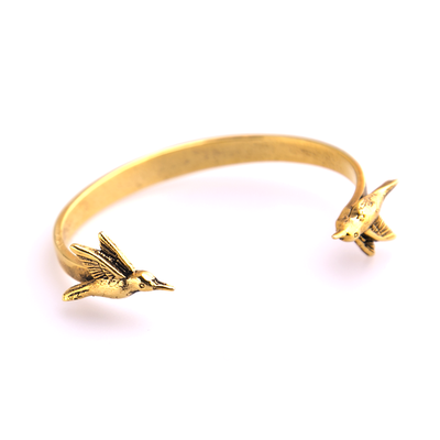 Bones and Feathers Collective Hummingbird Cuff