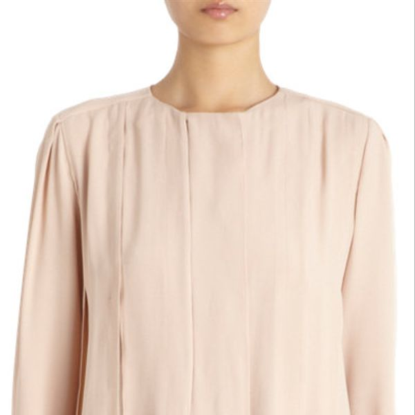 Marni  Pleated Crewneck Blouse