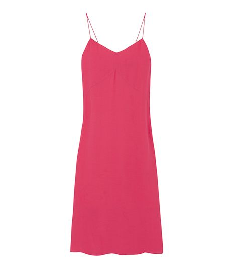 Tibi Crepe Slip Dress