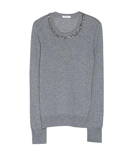 Equipment Shane Sweater with Embellished Neckline, $368
