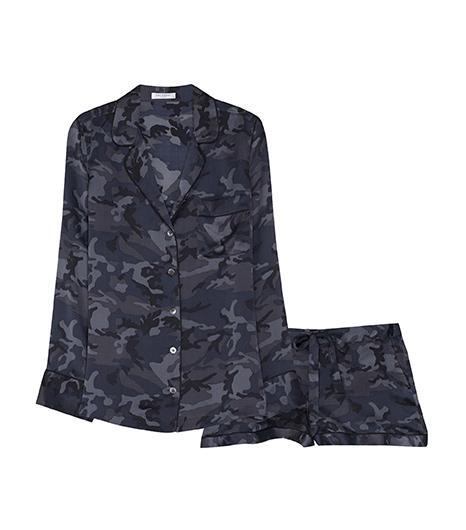 Equipment Lillian Pajama Set in Traditional Camo, $388