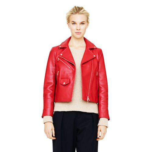 Club Monaco Libby Leather Moto Jacket