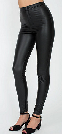 American Apparel  Vegan Leather Pants