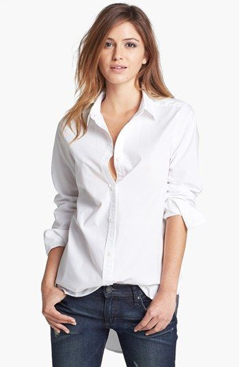 Tildon  Clean Oversixed Button-Up Shirt