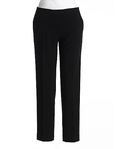 Isaac Mizrahi New York  Cropped Straight Leg Pants