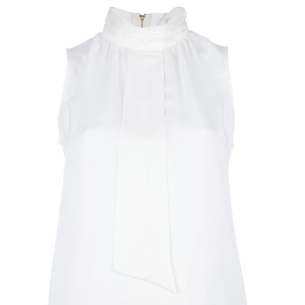 MICHAEL Michael Kors  Sleeveless Pussybow Top