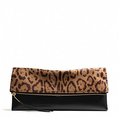 Coach The Large Clutchable in Leopard