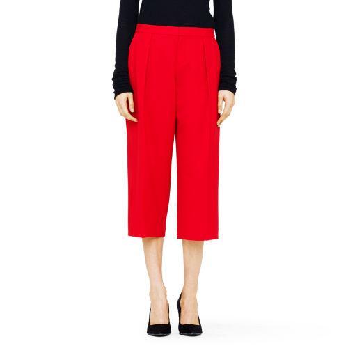 Nicole Italian Wool Crop Pant Club Monaco