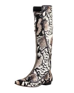 10 Crosby Derek Lam 10 Crosby Derek Lam Aimee Printed Calf Hair Boots