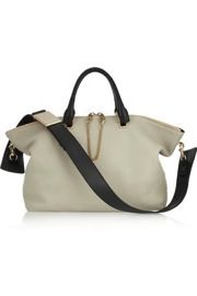 Chloe  Baylee Medium Two-Tone Leather Tote