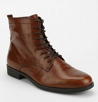 Vagabond  Code Leather Lace-Up Boots