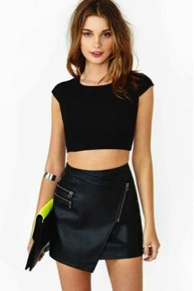 Nasty Gal  Sweet Persuasion Crop Tee