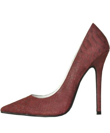 Jeffrey Campbell  Wine Snake Darling Pump