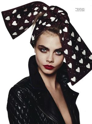 Yeah, Baby, She's Got It: Vogue Australia's Cute Feature On Cara Delevingne