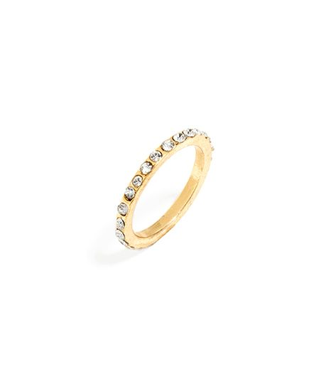 Atlantic-Pacific For BaubleBar Pave Eternity Midi Ring