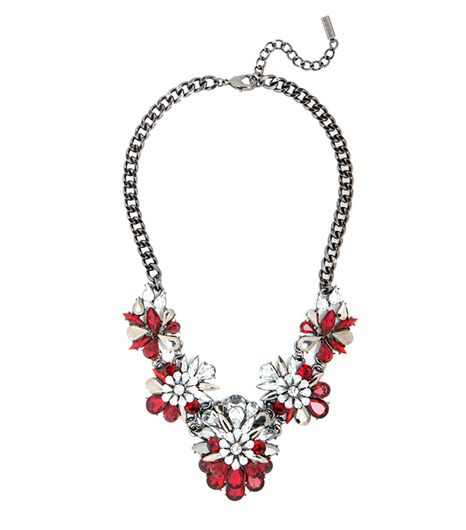 Atlantic-Pacific For BaubleBar Hema Jewel Bloom Collar