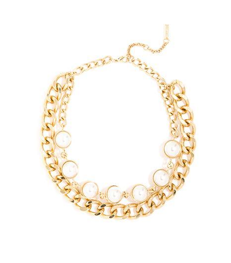 BaubleBar Pearl Orb Collar