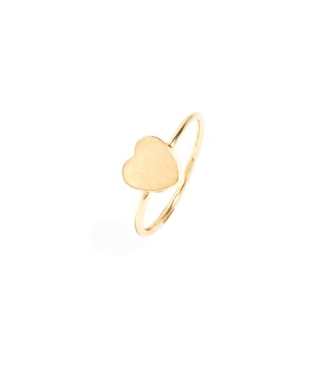 BaubleBar Block Heart Ring