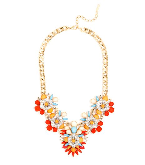 BaubleBar Birds of Paradise Bib