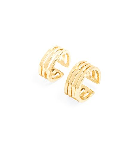 BaubleBar Gold Bar Ring Duo