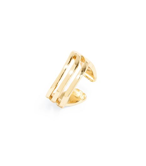BaubleBar Curved Bar Midi Ring