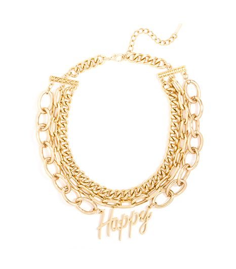 BaubleBar Gold Happy Collar