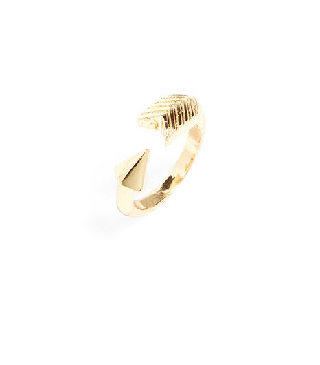 BaubleBar Double Cone Ring