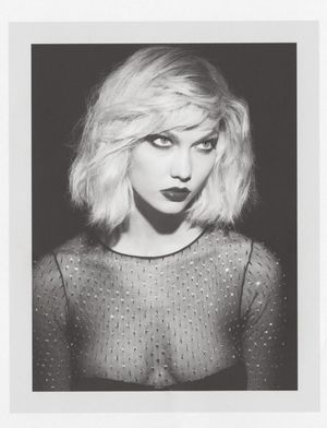 Karlie Kloss Gets Debbie Harry-Chic For Self Service Magazine