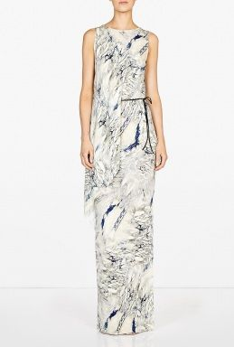Dagmar  Dagmar Magdalena Marbled Draped Dress
